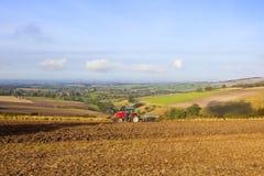 Agricoltura di ottobre Immagini Stock