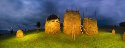 Agricoltura di sussistenza alpina Fotografia Stock Libera da Diritti
