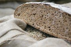 Agricoltura di sussistenza Pagnotta e grano Fotografia Stock