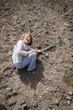 Agricoltura divertente Immagini Stock Libere da Diritti