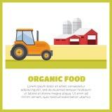 Agricoltura e coltivare agribusiness Paesaggio rurale Fotografie Stock Libere da Diritti