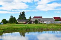 Agricoltura e paesaggio della campagna Fotografie Stock Libere da Diritti