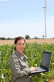 Agricoltura ed energia Immagine Stock Libera da Diritti