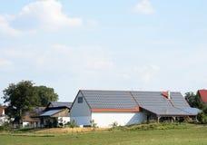 Agricoltura ed energia verde Fotografie Stock Libere da Diritti