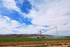 Agricoltura industriale Fotografie Stock Libere da Diritti