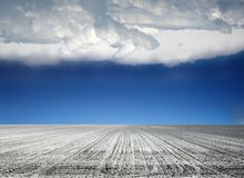 Agricoltura modific il terrenoare Fotografia Stock Libera da Diritti