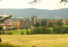 Agricoltura nei sobborghi. Fotografie Stock