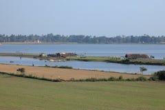 Agricoltura nel Myanmar Immagini Stock