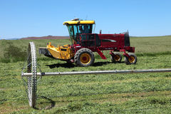 Agricoltura organica & terreni coltivabili, Oregon del sud. Fotografia Stock