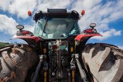 Agricoltura posteriore del trattore Immagine Stock Libera da Diritti