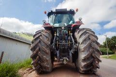 Agricoltura potente dei trattori Fotografia Stock Libera da Diritti