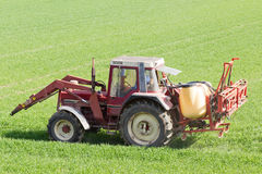 Agricoltura in primavera Immagine Stock
