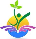 agricoltura, progettazione dell'icona di simbolo di vettore di successo illustrazione vettoriale