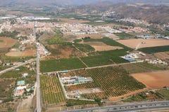 Agricoltura in Spagna Fotografia Stock Libera da Diritti