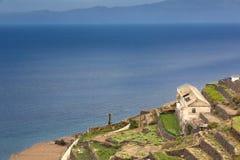 Agricoltura sull'isola di Gomera, Spagna Immagine Stock Libera da Diritti