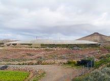 Agricoltura sull'isola Fuerteventura in Spagna Immagini Stock