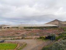 Agricoltura sull'isola Fuerteventura in Spagna Fotografie Stock Libere da Diritti