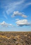 Agricoltura, terra nel campo Immagine Stock Libera da Diritti