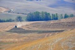 Agricoltura in Toscana, Italia Immagini Stock Libere da Diritti