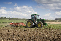 Agricoltura - trattore Fotografia Stock