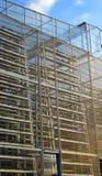 Agricoltura verticale, larga scala Fotografia Stock