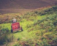 Agriculteur de montagne écossais images libres de droits