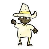 agriculteur de paysan de bande dessinée illustration libre de droits