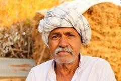 Agriculteur indien - Inde Photographie stock libre de droits