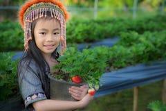 Agriculteurs d'enfant Image libre de droits