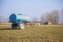 Agricultralvoertuig Royalty-vrije Stock Foto