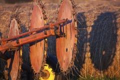 agricultular maszynowy stary Obrazy Stock