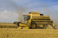 Agricultura - cosechadora Imagenes de archivo