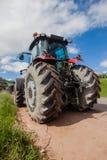 Agricultura das explorações agrícolas dos tratores Imagem de Stock