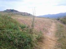 Agricultura de la montaña de la naturaleza Fotografía de archivo