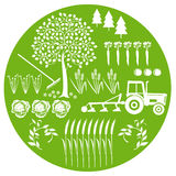 Agricultura e natural Fotografia de Stock Royalty Free