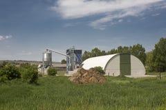 Agricultura moderna Fotografia de Stock Royalty Free