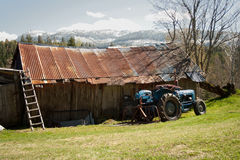 Agricultura velha Imagem de Stock Royalty Free