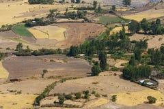 Agricultural area in Ethiopia Stock Photos