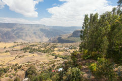 Agricultural area in Ethiopia Stock Images