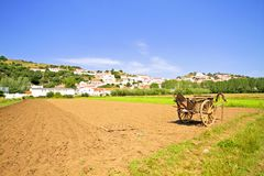 Agricultural area in Portugal Stock Photography