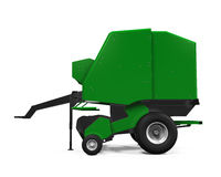 Free Agricultural Baler Isolated Royalty Free Stock Photo - 49493625