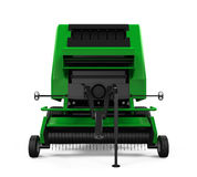 Agricultural Baler Isolated Royalty Free Stock Photography