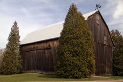 Agricultural Barn Stock Photo