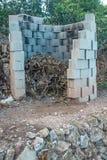 Agricultural burner Royalty Free Stock Image