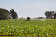 Agricultural chemical sprayer Royalty Free Stock Photo