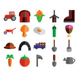 Agricultural Colored Icons Set 2 Royalty Free Stock Images
