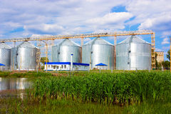 Agricultural elevator Royalty Free Stock Image
