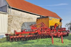 Agricultural equipment Royalty Free Stock Images