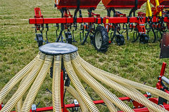 Agricultural equipment. Detail 10 Royalty Free Stock Image