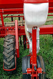 Agricultural equipment. Detail 140 Stock Image